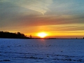 Thüringer Sonnenuntergang