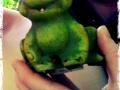 Und noch eine Bekanntschaft im Wald: der Frosch