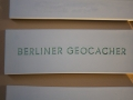 """Keramikplatte """"Berliner Geocacher"""""""