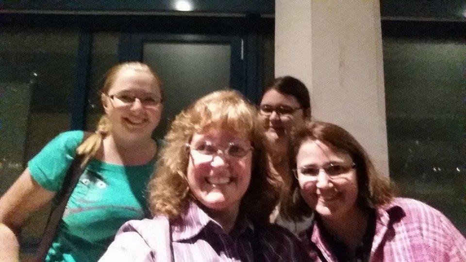 Jenny, Karen, Claudia and Katie